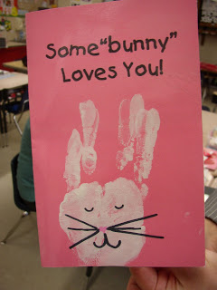 "Happy Valentine's Day: Some ""Bunny"" Loves You Card"