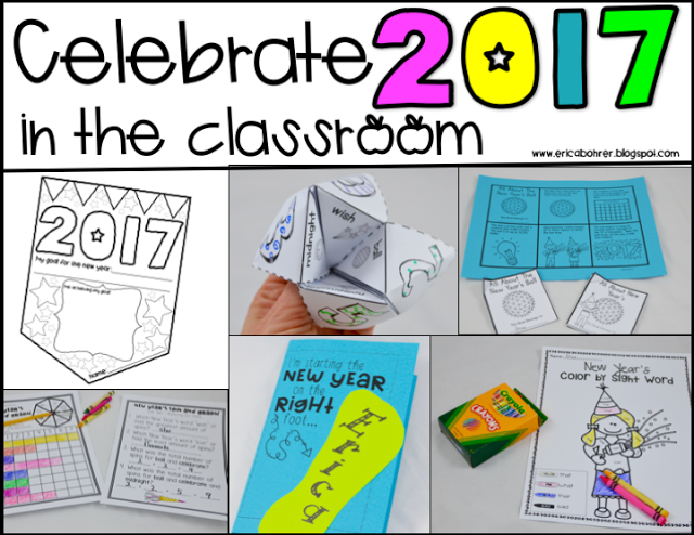 Celebrating 2017 in the Classroom {Freebie Included!}