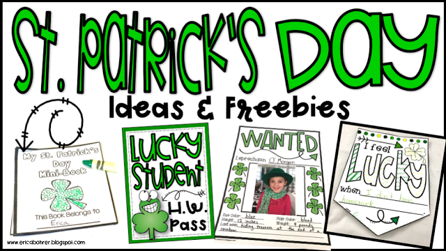 St. Patrick's Day Freebies and More