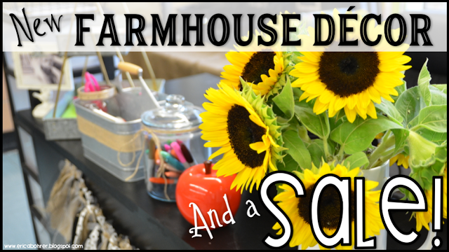 New Farmhouse Decor Files Posted and a Sale!