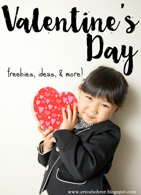 Valentine Freebies, Ideas, and More!