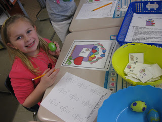 Jelly Bean Math Centers and Dollar Tree