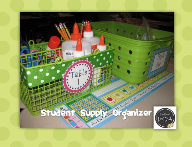 Bright Polka Dot Classroom Decor: Updates